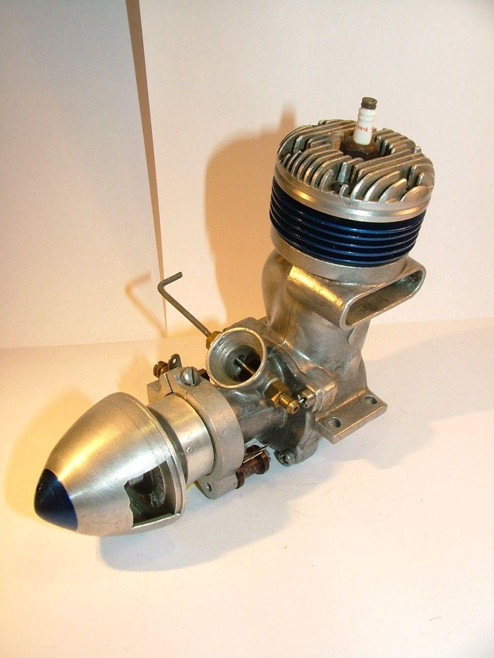 Hassad Bluestreak Vintage Ignition Model Aircraft Engine Fai Da Te Foto