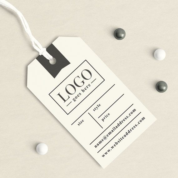 Custom Clothing Tags Handmade Tag Product Label Business Tags