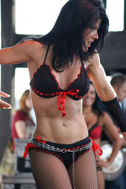 Have hit Full throttle saloon angie topless