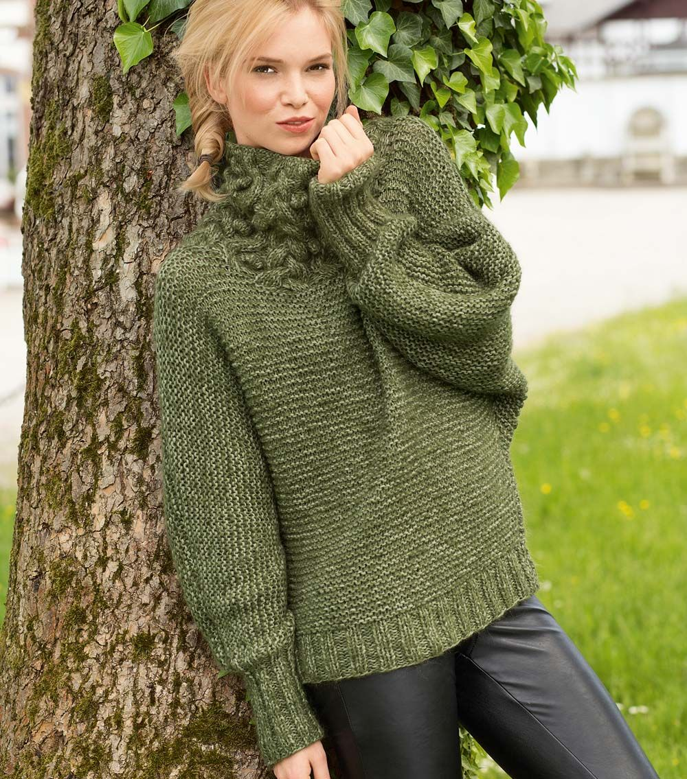 Схема легкого свитера