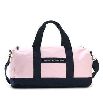 Tommy Hilfiger Boston bag TOMMY HILFIGER Duffle Bag travel bag pink   Navy  6926158 661 116cf37b77cb0