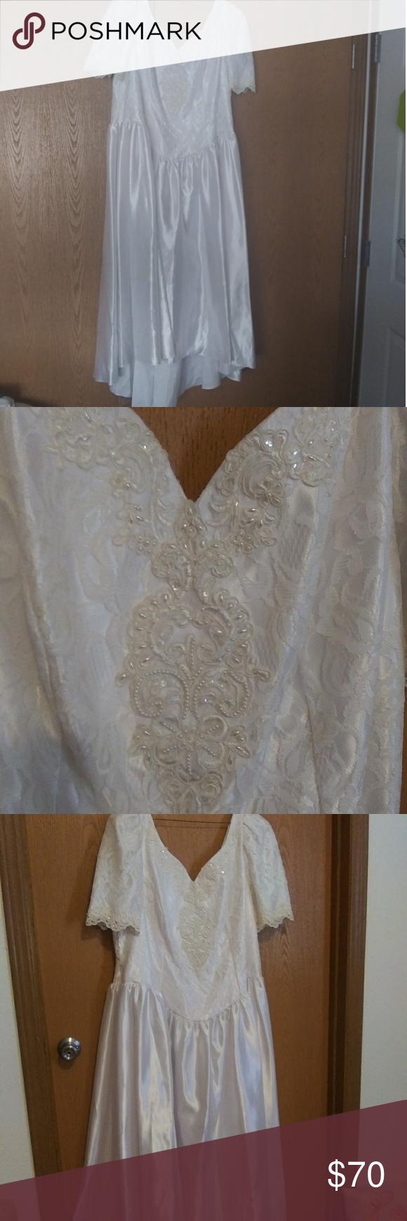 White Tea Length Wedding Dress White Satin With Lace Jcpenney Dresses Wedding Tea Length Wedding Dress Tea Length Wedding Jcpenney Dresses [ 1740 x 580 Pixel ]