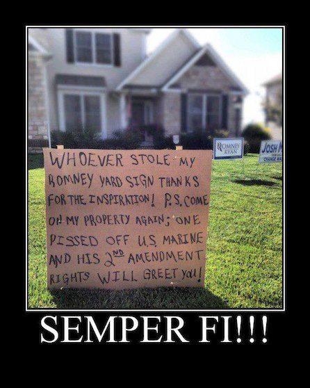 Semper Fi!!                                                                                                                                                      More