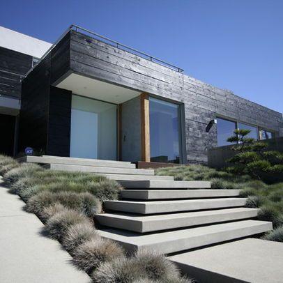 Dallas Floating Concrete Steps Design Ideas Pictures