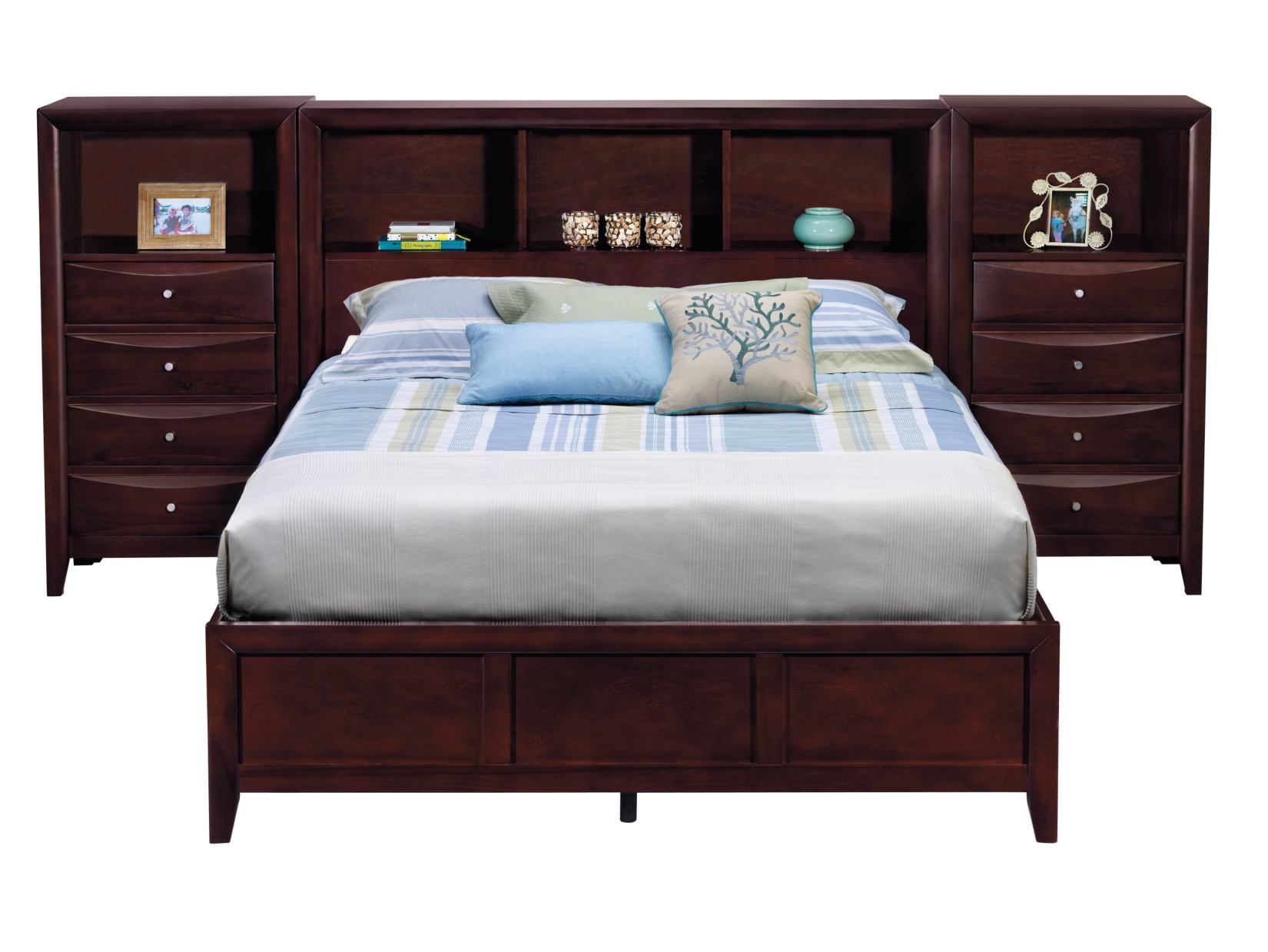 Clarion 5 Pc Wall Bed With Piers American Signature