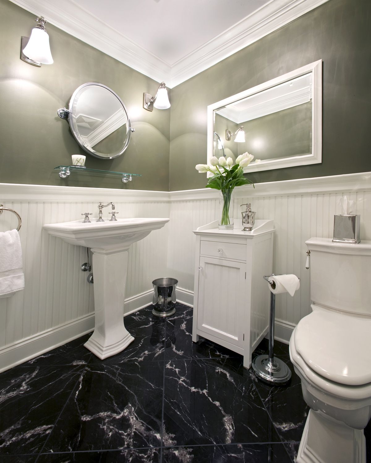 Bathroom Ideas White Marble Bathrooms