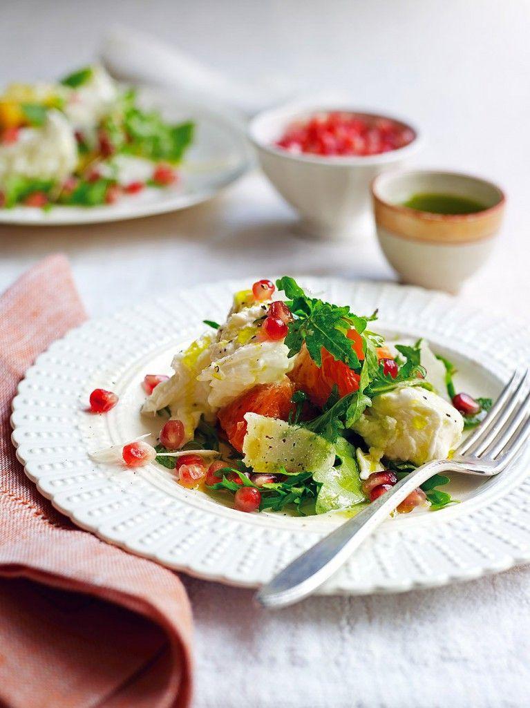 Mozzarella & Winter Fruit Salad | Jamie Oliver