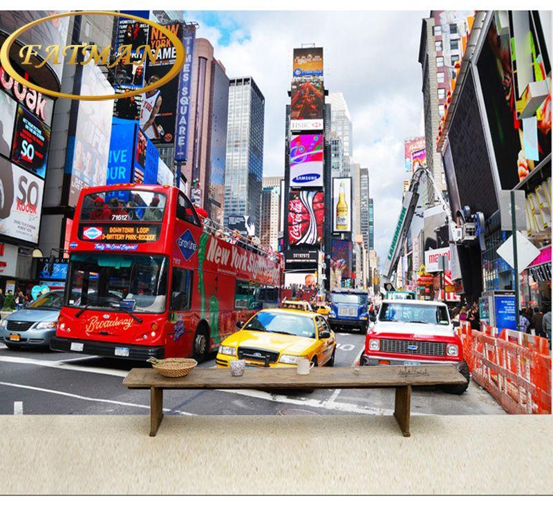 Schicken Mehr Tapeten Information über Fototapete Times Square New