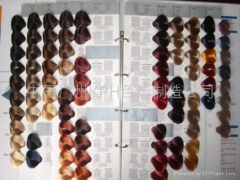 professional hair color swatches hair colour display book model brand hair swatch origin made in - Keune Color Swatch Book