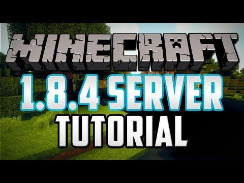 How To Make A Minecraft Server Version In Under - Minecraft server erstellen 1 8 cracked