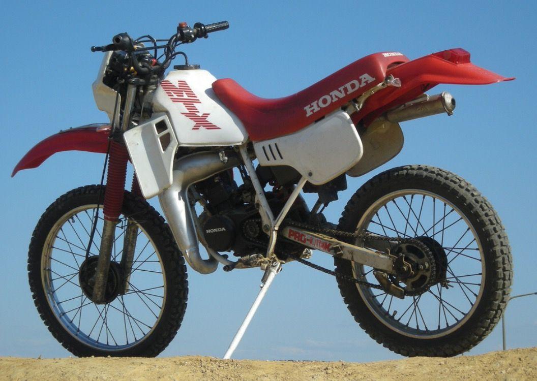 Honda wit rood MTX 50 brommer | Scooters en brommers | Pinterest ...