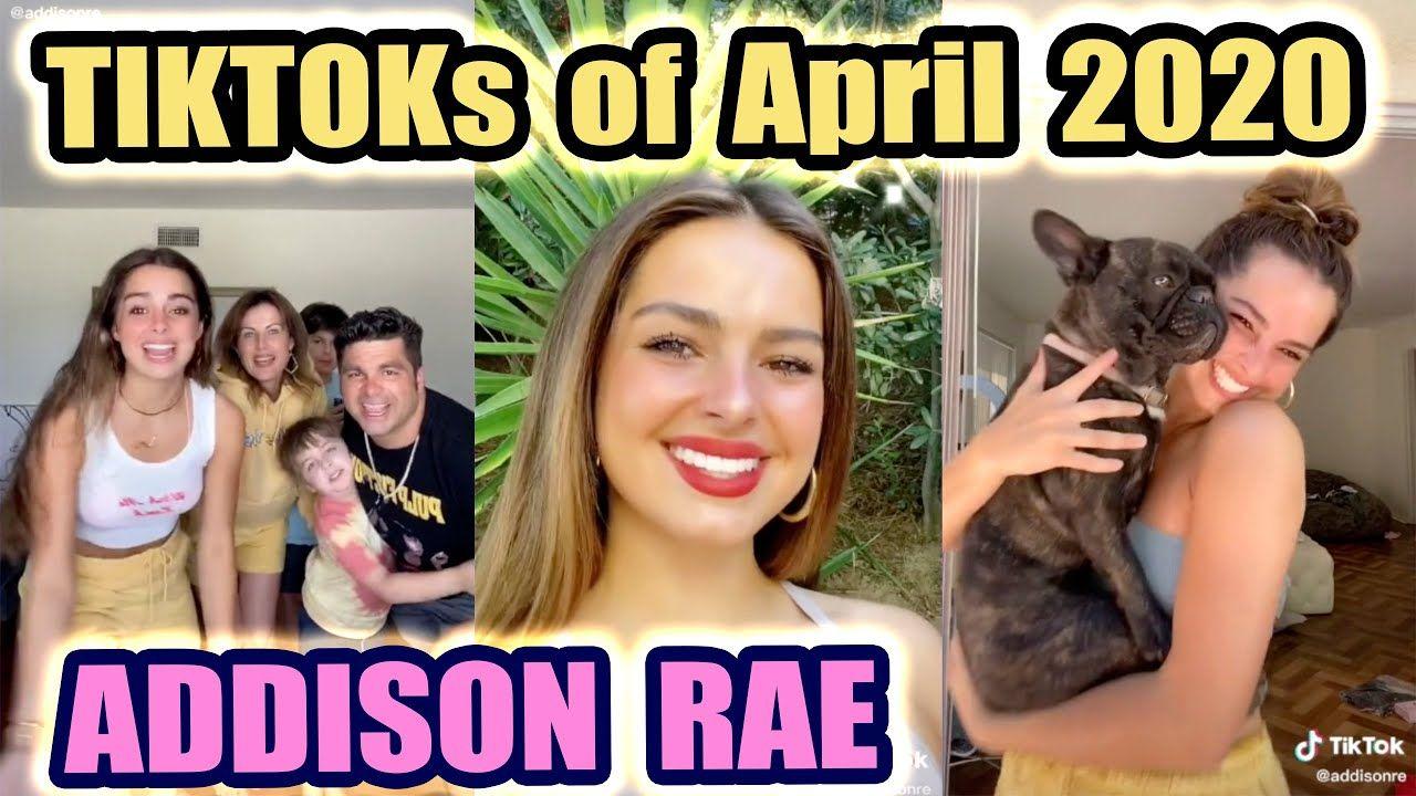 New Addison Rae Tik Tok Of April 2020 Part 2 Addison Rae Viral