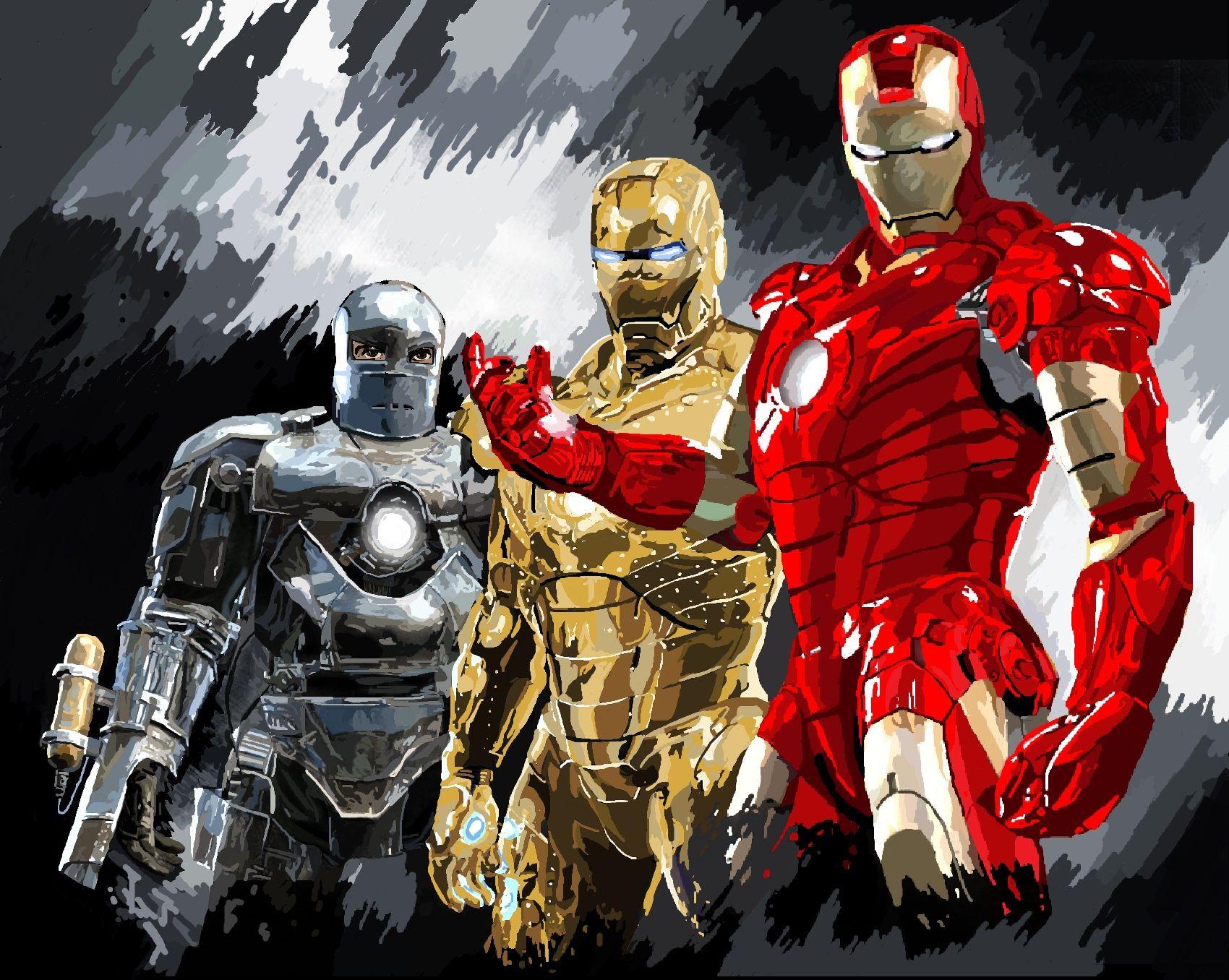 Iron Man (Movie Version; Game artwork) Iron man movie
