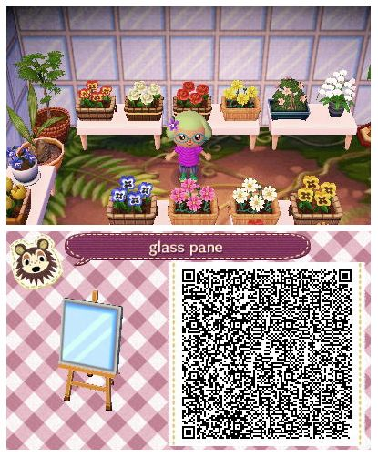 Glass Pane By Quirkberry Animal Crossing New Leaf