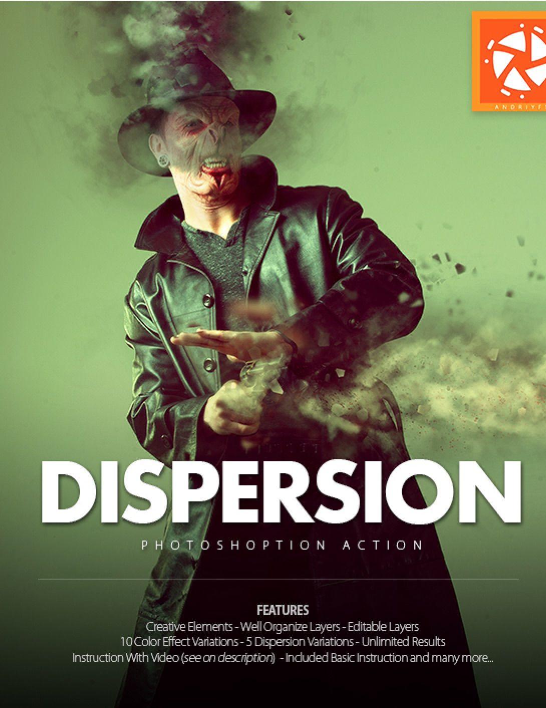 Dispersion #photoshop #action