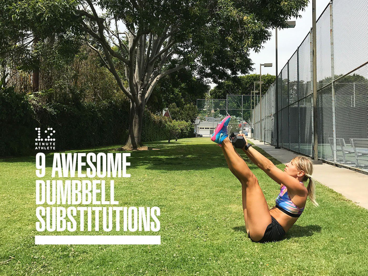9 Ways to Substitute Dumbbells in Your Favorite Exercises | Ball exercises. Dumbbells