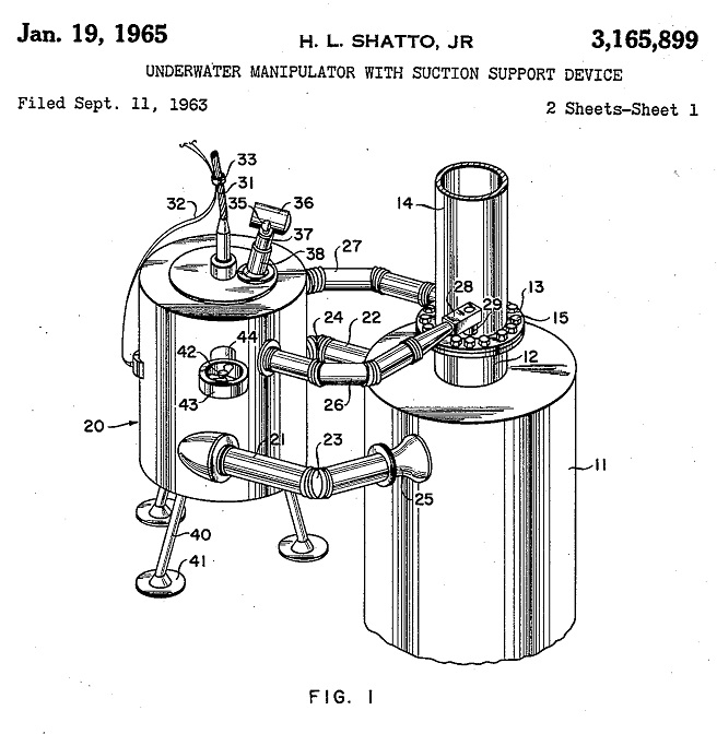This Week In Petroleum History Inventor Patents Underwater