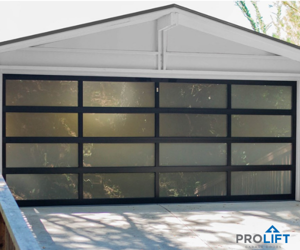 Ideal For Modern Contemporary Or Mid Century Architecture Glass Garage Doors Are Trending In Home D Garage Door Styles Modern Garage Doors Glass Garage Door
