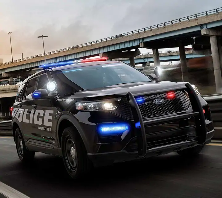 All New 2020 Ford Police Interceptor Utility Hybrid Suv Coming Soon Ford Com Ford Police Police Cars Ford Explorer