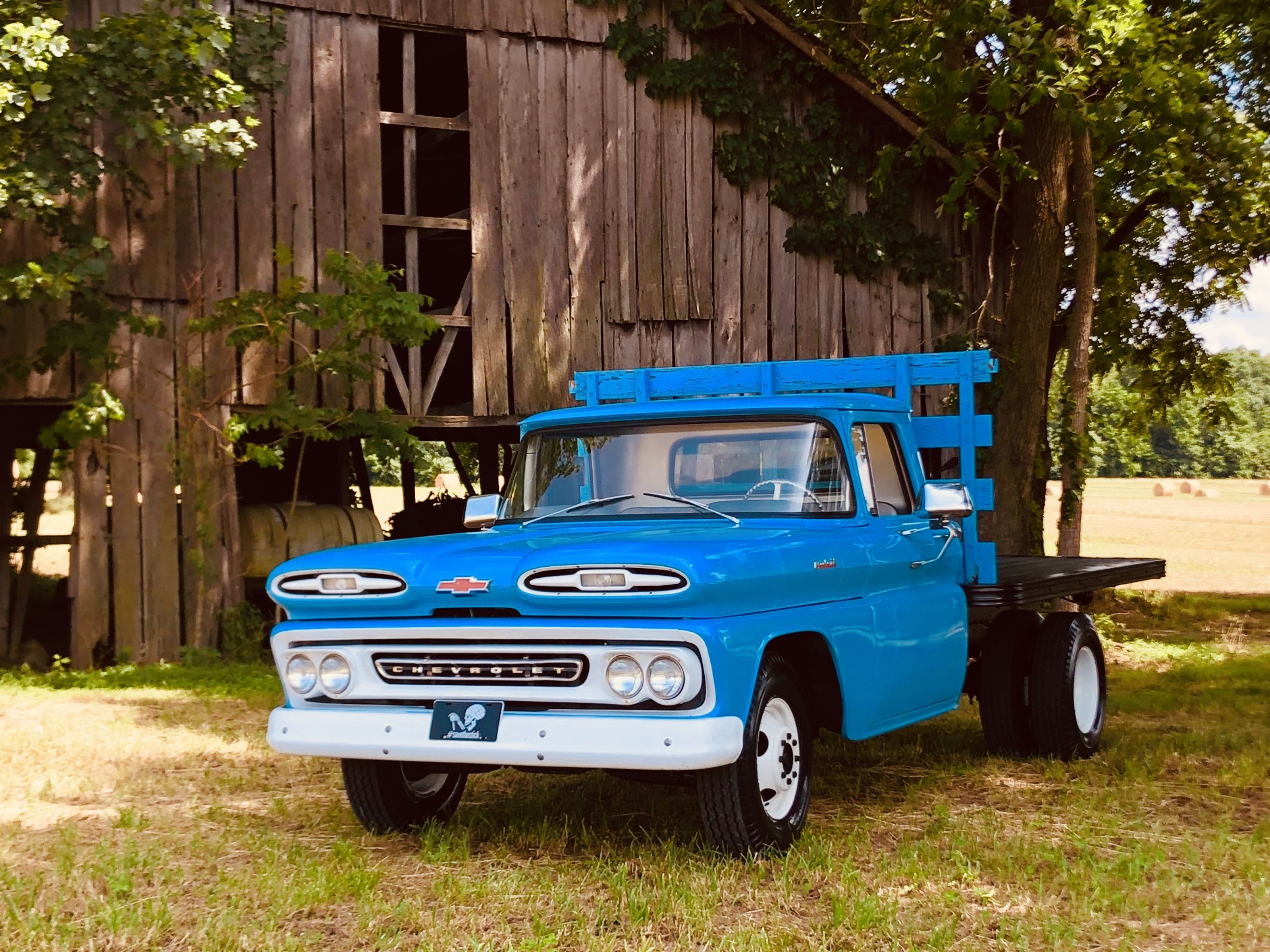 1961 C30 Dually Flatbed Classic Pickup Trucks Classic Chevy