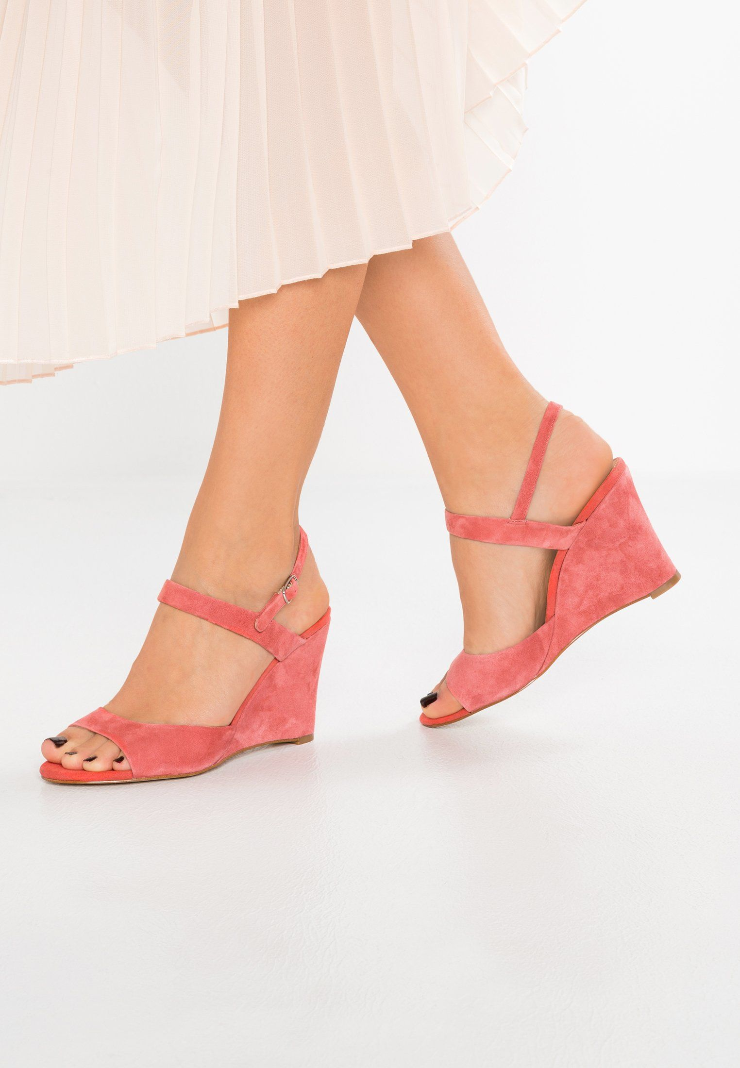 24a59fe471a5a4 KIOMI High heeled sandals - coral - Zalando.co.uk