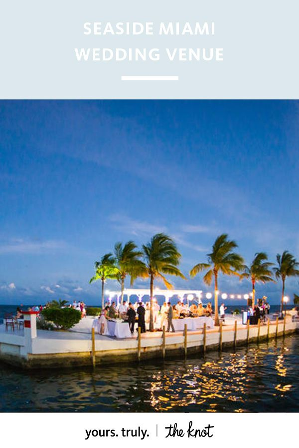 Have the oceanside ceremony of your dreams on Key Largo's pristine white beach.