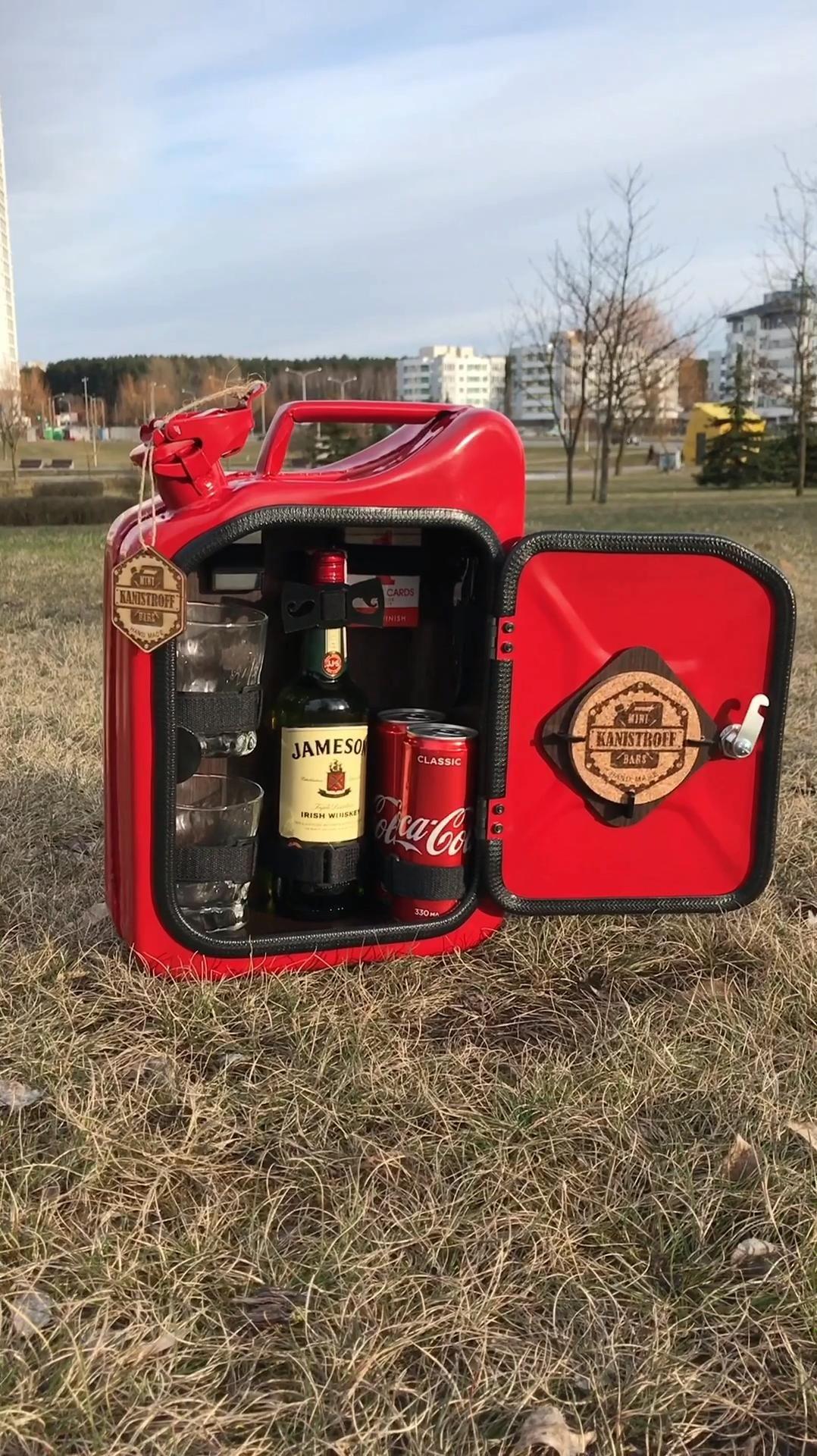Jerry Can Mini Bar Whiskey Bar Liquor Bar Etsy Video Video In 2020 Jerry Can Mini Bar Mini Bar Jerry Can