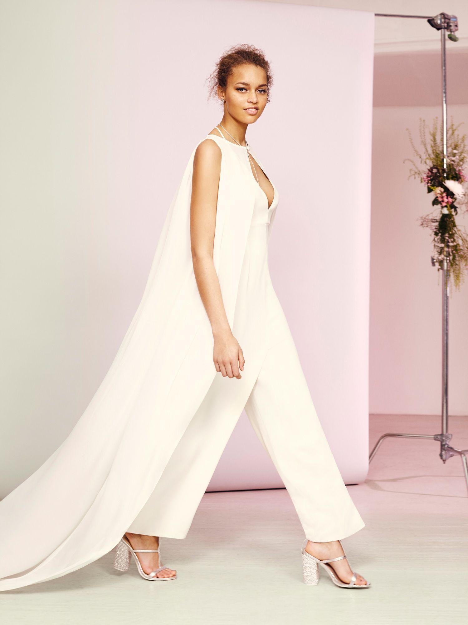Resultado de imagen para wedding overall dress