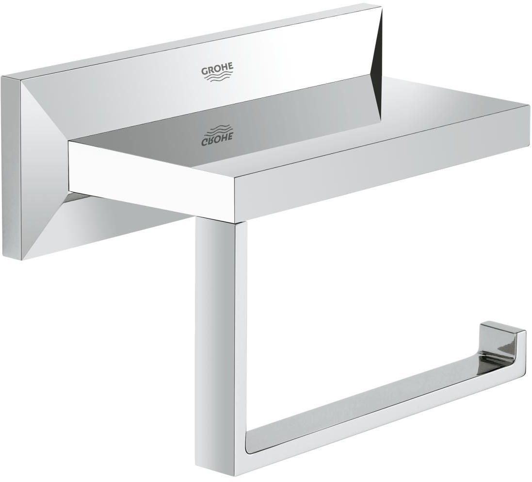 Modern toilet paper holders free standing - Allure Brilliant Toilet Paper Holder By Grohe