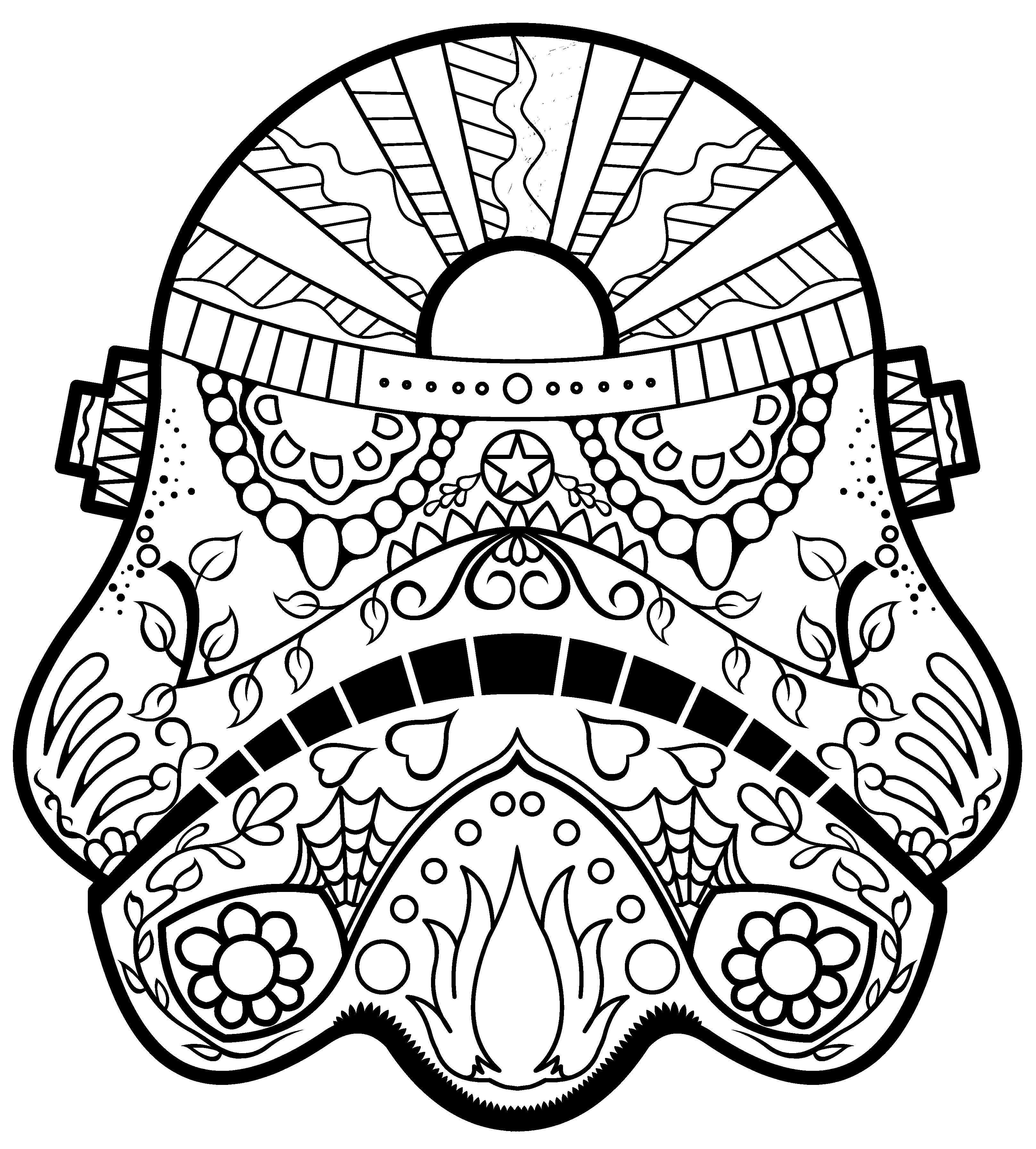 9 52 17 Day Of The Dead Animal Coloring Mandala Coloring Pages Skull Coloring Pages Coloring Pages