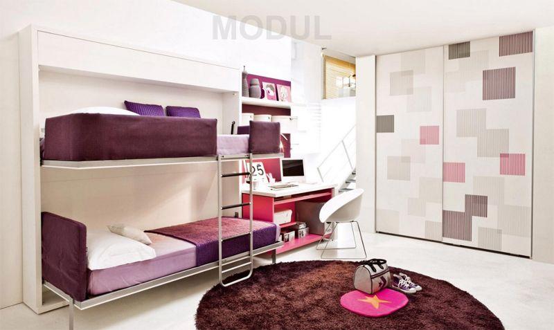 Leiter Schutz Etagenbett : Спальня для двух подростков с двухэтажной кроватью clei07 Детская