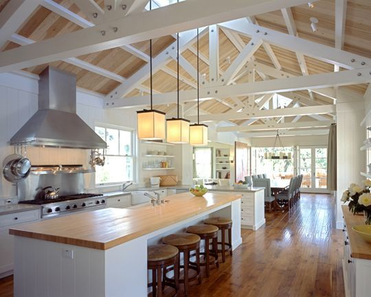 Porch Open Scissor Truss Skylight Google Search