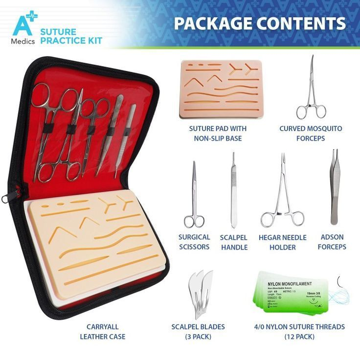 Suture Practice Kit - A Plus Medics