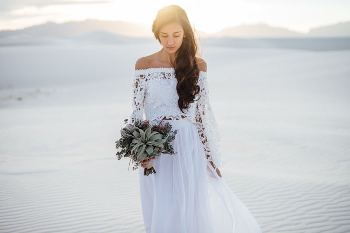 White Sands National Monument Wedding New Mexico Photography Desert Inspiration
