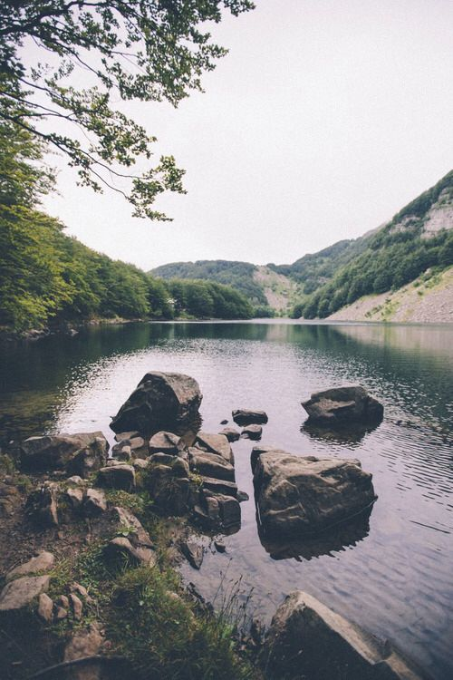 #faraway #indie #lake #landscape #nature #vintage