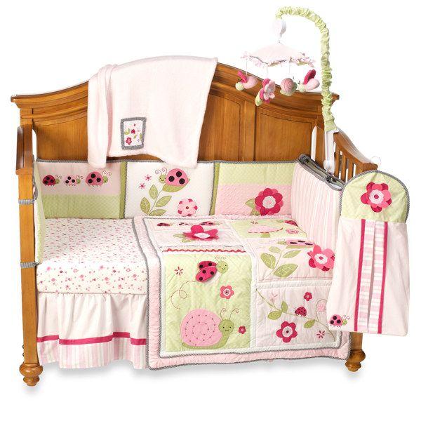 Kidsline dotty 6 piece crib bedding set and accessories buybuy baby nursery roomnursery