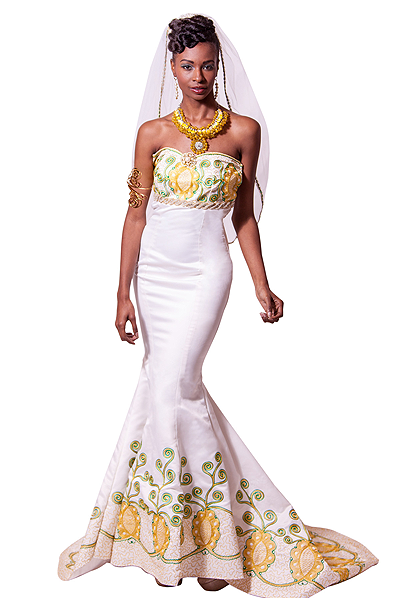 couture wedding gown Queen Amina of Zaria, Nigeria gown   F:FaF ...