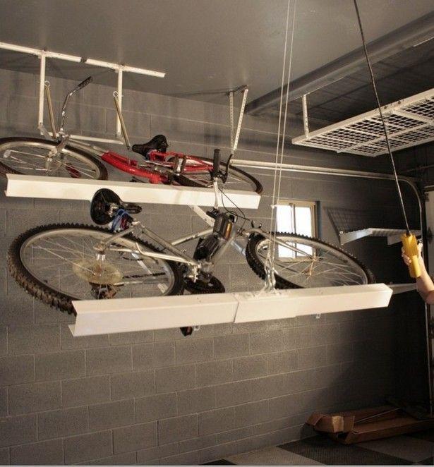bike storage racks for garage ceiling workshop support. Black Bedroom Furniture Sets. Home Design Ideas