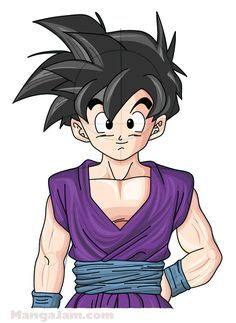 Let S Learn How To Draw Gohan From Dragon Ball Today Gohan Son Gohan Is The Elder Son Of T Anime Dragon Ball Super Dragon Ball Super Manga Dragon Ball