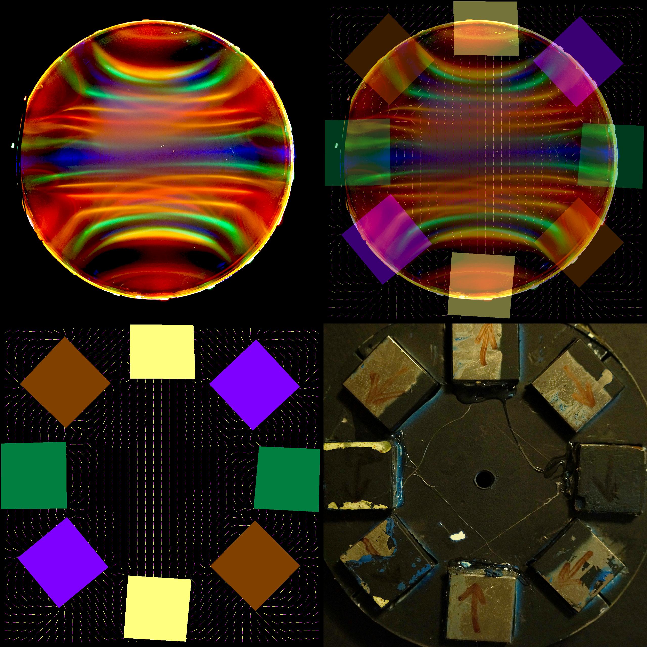 Ferrofluid Cell Vs Pic2mag - Halbach Array