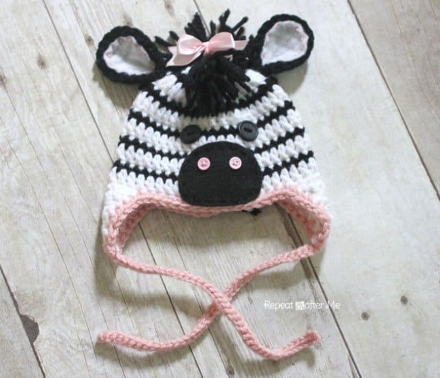 Free Crochet Baby Animal Hats Pinterest Top Pins Free Pattern