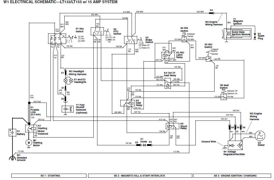 John Deere 133 Wiring Diagram | Wiring Diagram on