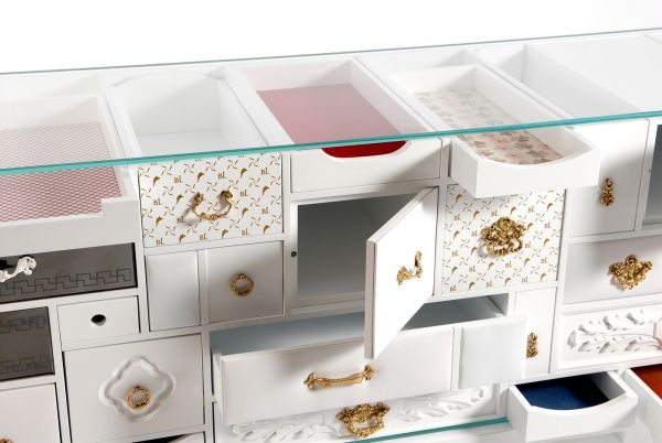 Eye-catching designer sideboards by Boca do Lobo with opulent design