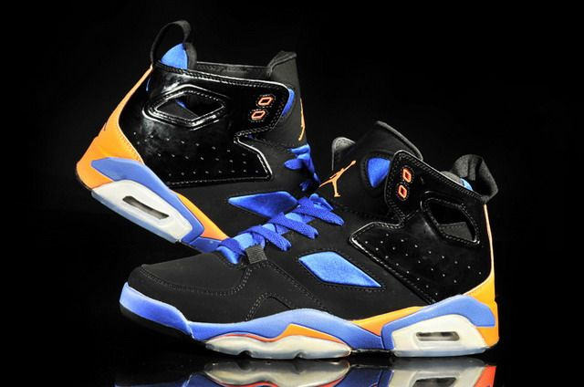 new concept 29d64 da3b3 Air Jordan 6 Retro Black Royal Blue Orange #style #fashion ...