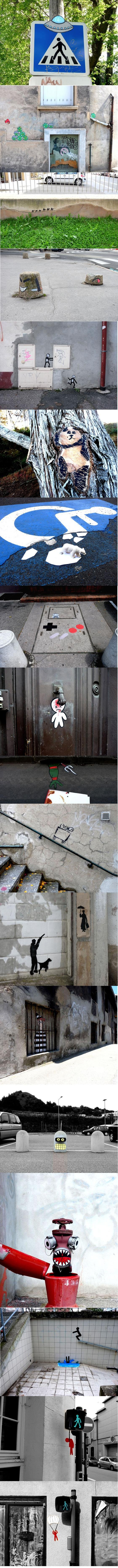 Urban art from arround the world.