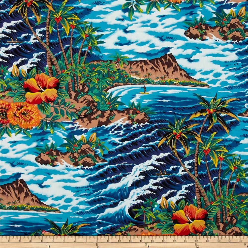Tropical Island Turquoise Brown Shades And Accent Colors