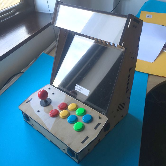 Picade The Arcade Cabinet Kit For Your Mini Computer By Pimoroni