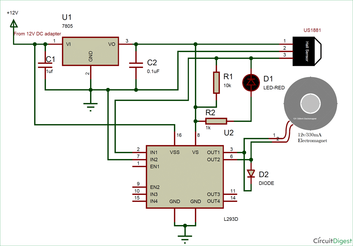 7 Segment Counter Using Ic 555 And 4026 Circuit Diagram