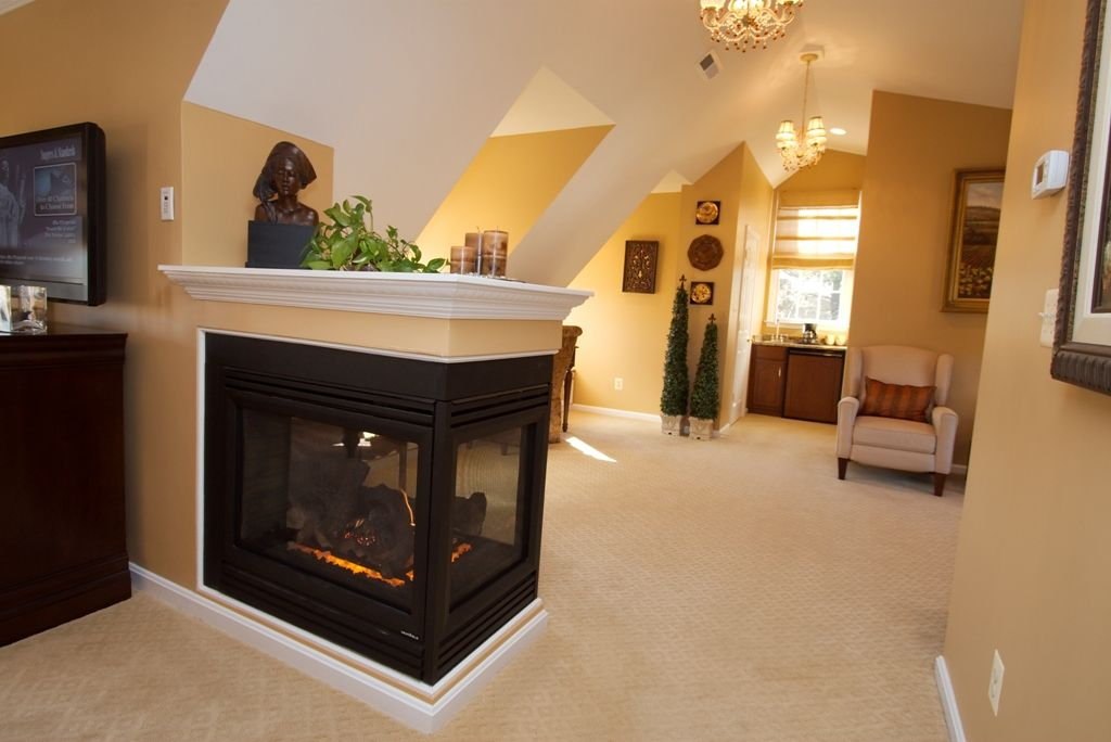 What You Don T Have A Half Wall Fireplace In Your Bedroom Kris