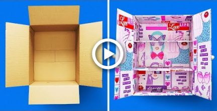 29 CARDBOARD BOXES CRAFTS #house #craft